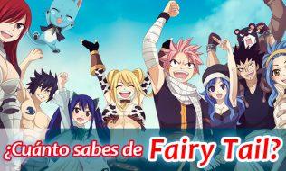 ¿Cuánto sabes de Fairy Tail?
