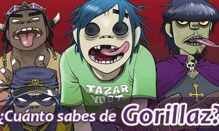 ¿Cuánto sabes de Gorillaz?