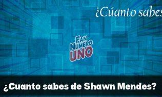 ¿Cuanto sabes de Shawn Mendes?