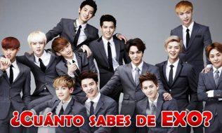 ¿Cuánto sabes de EXO?