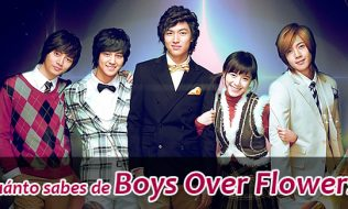 ¿Cuánto sabes de Boys Over Flowers?
